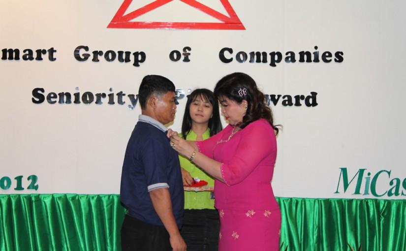 2012 Pin Award